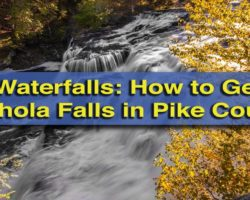 Pennsylvania Waterfalls: How to Get to Shohola Falls in Pike County