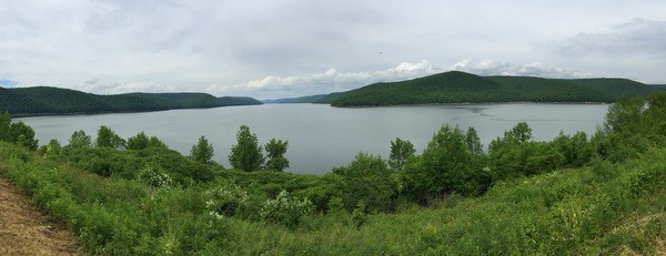 Allegheny Reservoir in Warren County, Pennsylvania.