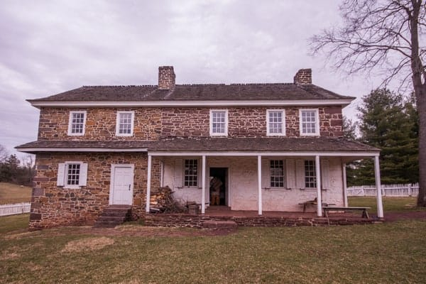 The Daniel Boone Homestead in Pennsylvania