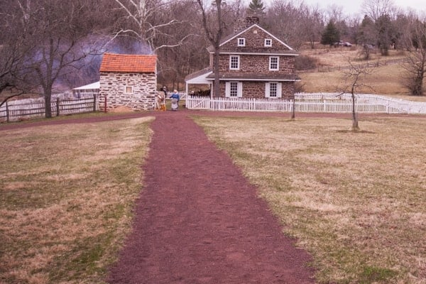The Daniel Boone Homestead near Birdsboro, PA.
