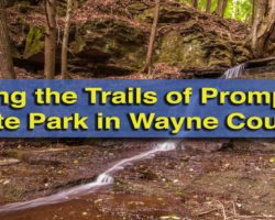 Hiking the Trails of Prompton State Park in Wayne County, PA