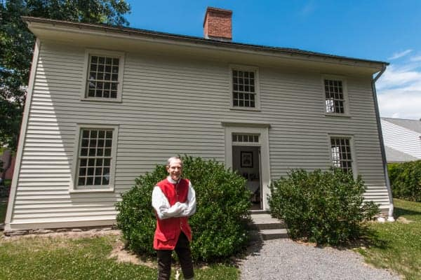 Touring the Nathan Denison House is one of the best things to do in Luzerne County, PA