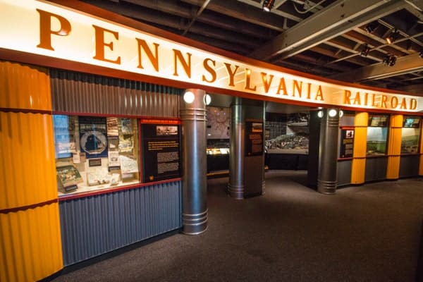 The Railroaders Memorial Museum is a great place to learn about Altoona's history