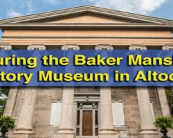 Touring the Baker Mansion History Museum in Altoona, PA