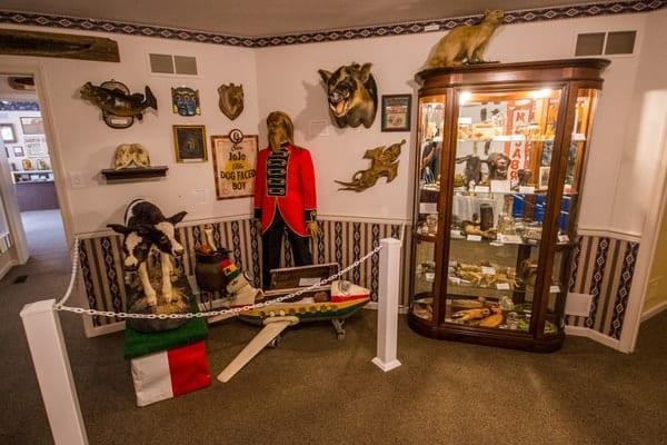 The Gettysburg Dime Museum in Gettysburg.