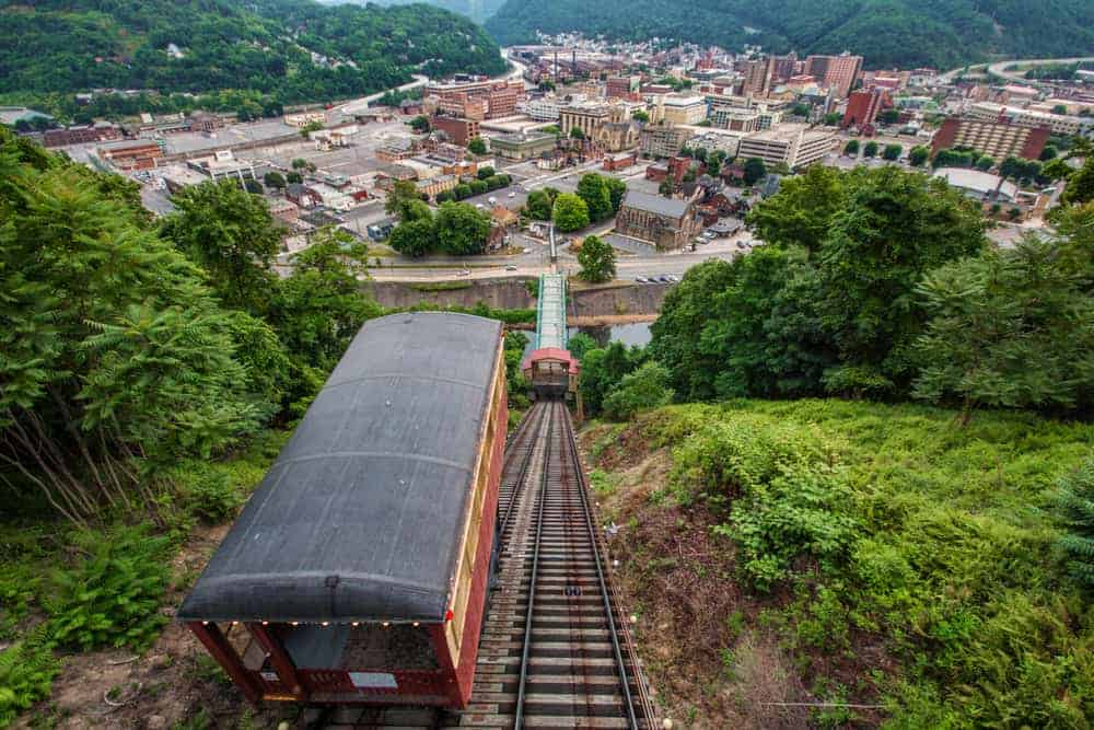 Johnstown, Pennsylvania, from the Johnstown Inclined Plane
