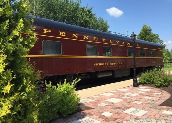 Pullman rail car at the Peter Herdic Transportation Museum in Williamsport, PA.