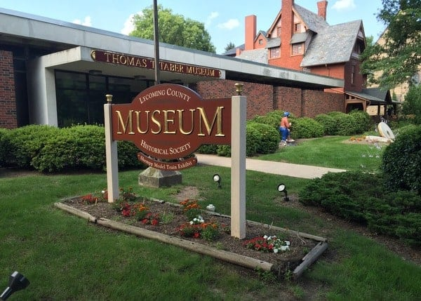 The Taber Museum is a great place to learn more about the history of Lycoming County, PA.