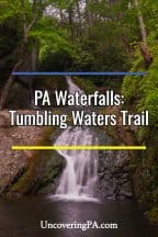 Tumbling Waters Trail in the Delaware Water Gap
