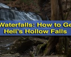 Pennsylvania Waterfalls: How to Get to Hell's Hollow Falls in McConnells Mill State Park