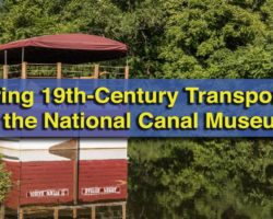 Exploring 19th-Century Transportation at the National Canal Museum in Easton