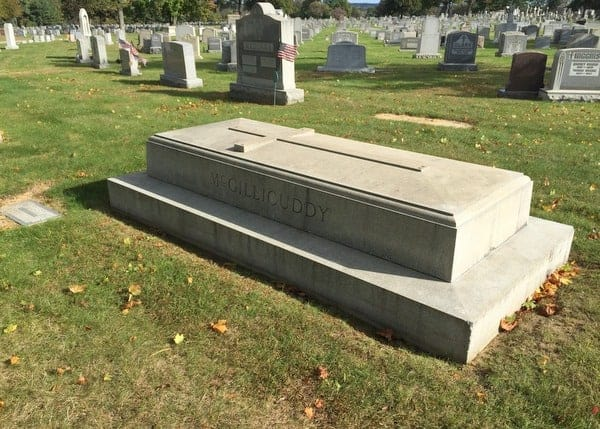 Grave of Connie Mack in Philadelphia, Baseball Hall of Famer