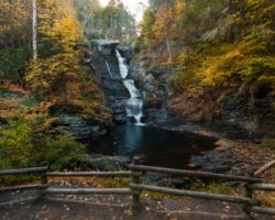 How to Get to Raymondskill Falls in the Delaware National Water Gap of PA