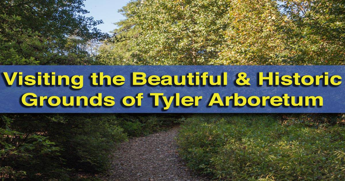 Visiting Tyler Arboretum in Media, Pennsylvania