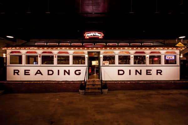 Fegley's Reading Diner at the Boyertown Auto Museum in Berks County, Pennsylvania.