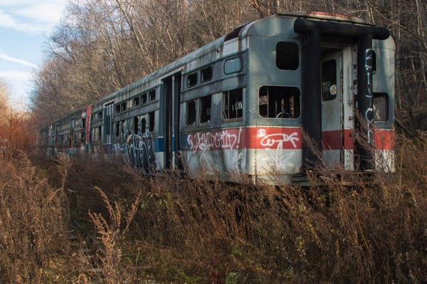 Touring the Abandoned Trolley Graveyard