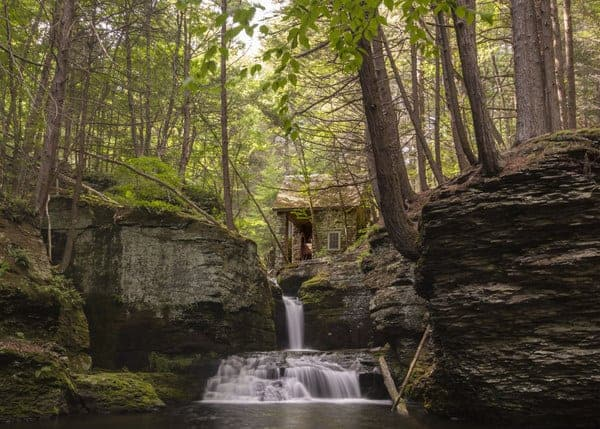 Top Pennsylvania Travel Photos of 2016 - Waterfall in the Poconos