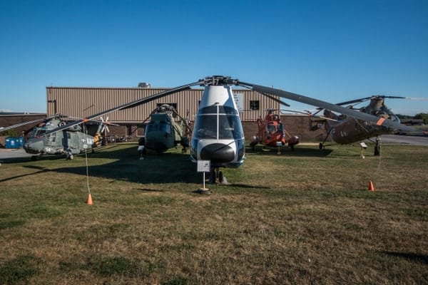 Visiting the American Helicopter Museum in Chester County, Pennsylvania