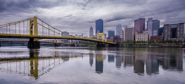 Top Pennsylvania Travel Photos of 2016 - Pittsburgh Panoramic