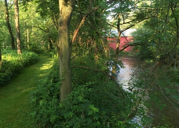 How to get to Hassenplug Covered Bridge in Mifflinburg, Pennsylvania