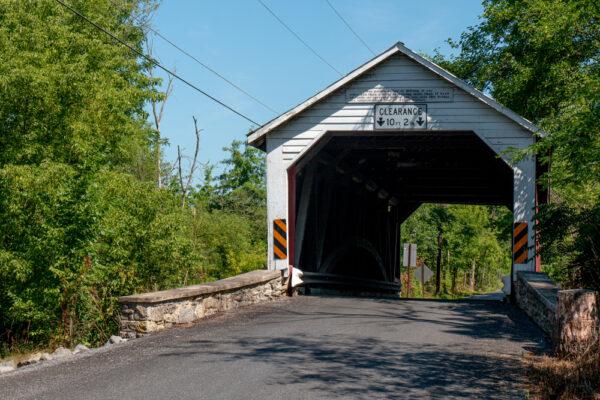 Hassenplug Covered Bridge in Mifflinburg PA