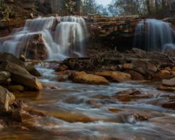 Pennsylvania Waterfalls: How to Get to Paint Falls and Little Paint Falls