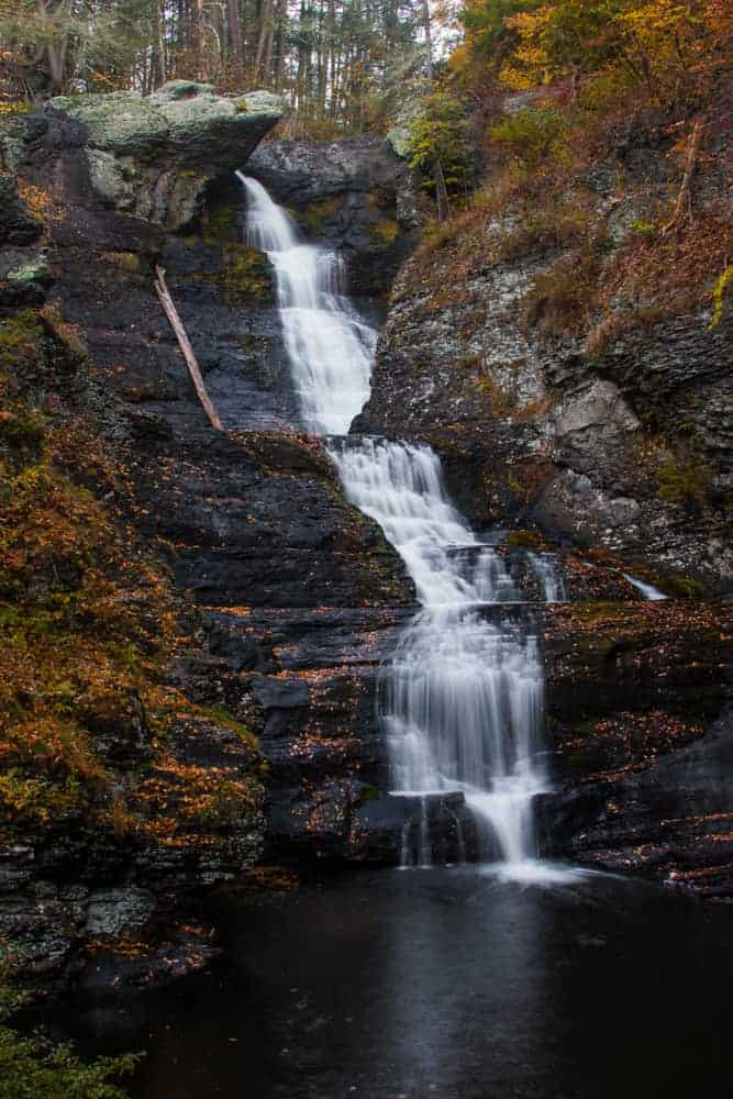 How to get to Raymondskill Falls in the Poconos.