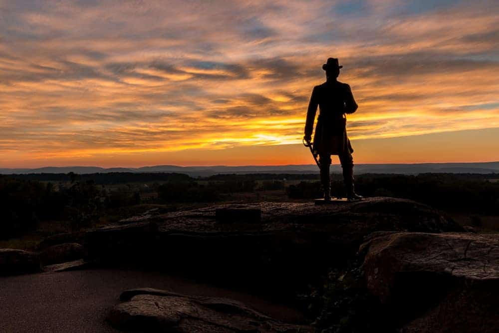Top Pennsylvania Travel Photos of 2016 - Little Round Top in Gettysburg, PA