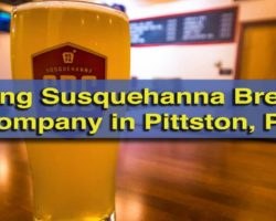 Touring Susquehanna Brewing Company in Pittston, PA
