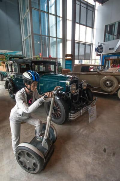 Inside America on Wheels Museum in the Lehigh Valley of Pennsylvania