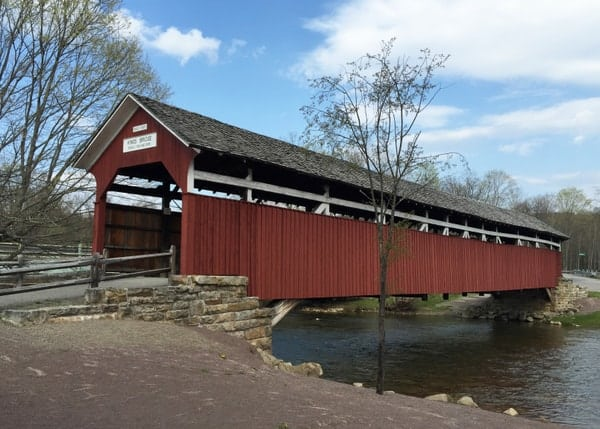 King's Covered Bridge in Somerset County, Pennsylvania