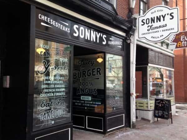 Places to Eat in Philadelphia: Sonny's in Old City
