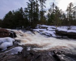 Pennsylvania Waterfalls: Tobyhanna Falls in the Austin T. Blakeslee Natural Area