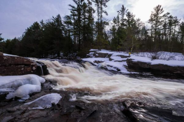 How to get to Tobyhanna Falls in the Austin T. Blakeslee Natural Area of the Poconos