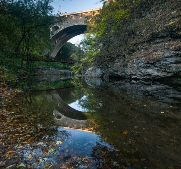 Top Pennsylvania Travel Photos of 2016 - Wissahickon Gorge in Philadelphia