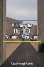 Visiting the Flight 93 National Memorial