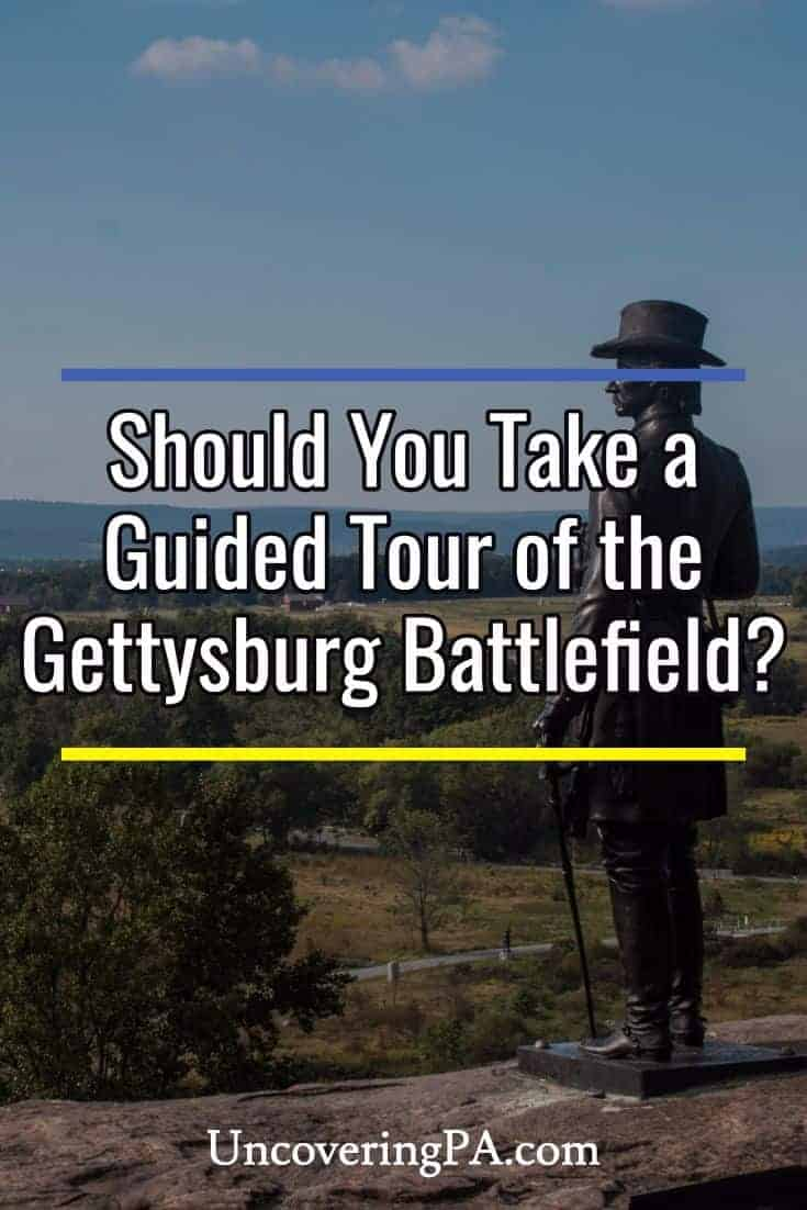 Should your hire a tour guide at the Gettysburg Battlefield? #Pennsylvania #CivilWar