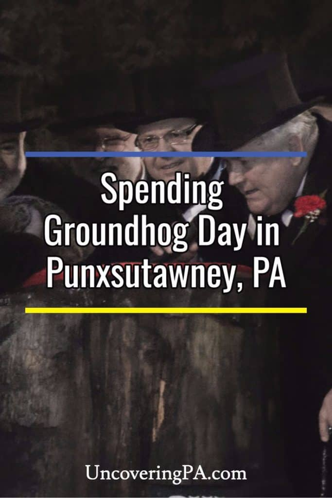 Visiting Punxsutawney, Pennsylvania, for Groundhog Day