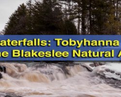 Pennsylvania Waterfalls: Tobyhanna Falls in the Austin T. Blakeslee Natural Area