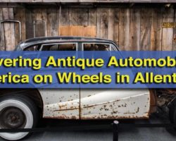 Uncovering Antique Automobiles at America on Wheels in Allentown