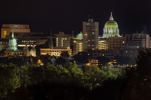 Where to shoot Harrisburg's skyline: Negley Park