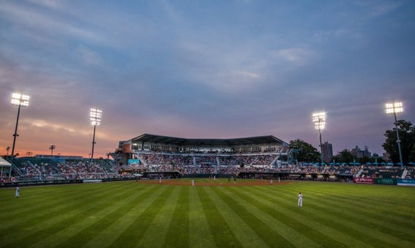 Photographs in Harrisburg: FNB Field on City Island