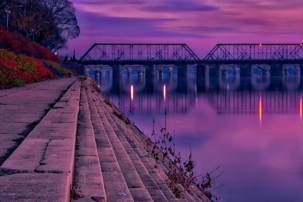 Places to shoot photos in Harrisburg: Riverfront Park