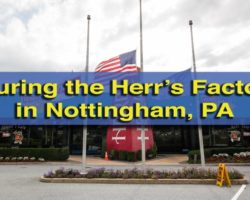 Taking the Herr's Factory Tour in Nottingham, PA