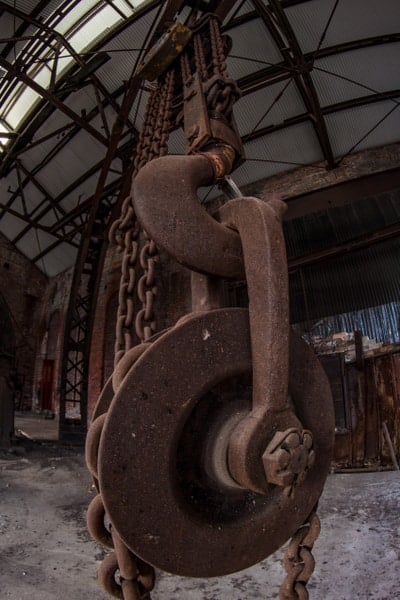 Visiting the remains of Cambria Iron Works in Johnstown, PA