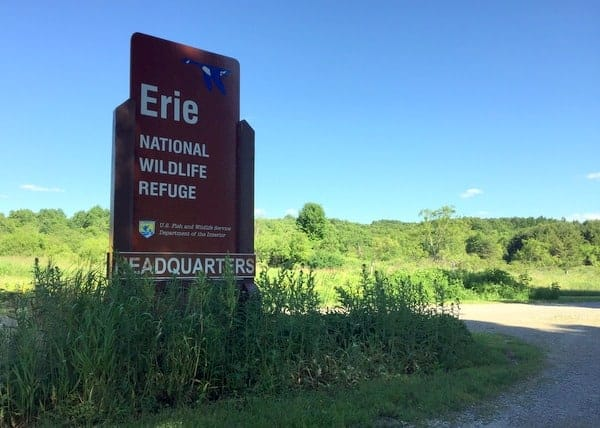 The Erie National Wildlife Refuge in Crawford County, Pennsylvania.