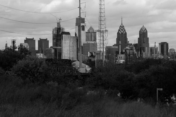 Best places to photograph Philly's skyline: Bartram's Garden