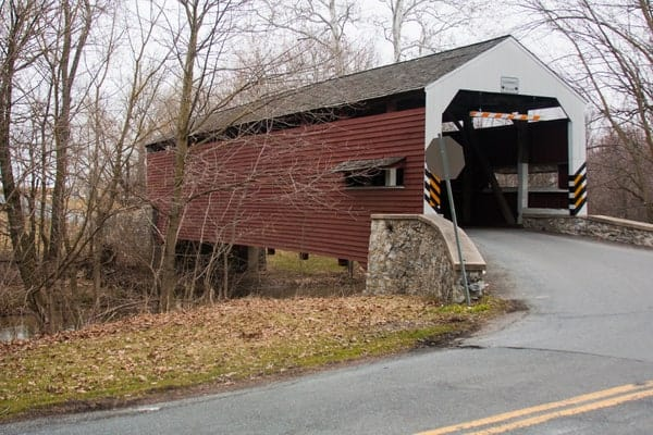 Schenck's Covered Bridge in Lancaster County, Pennsylvania