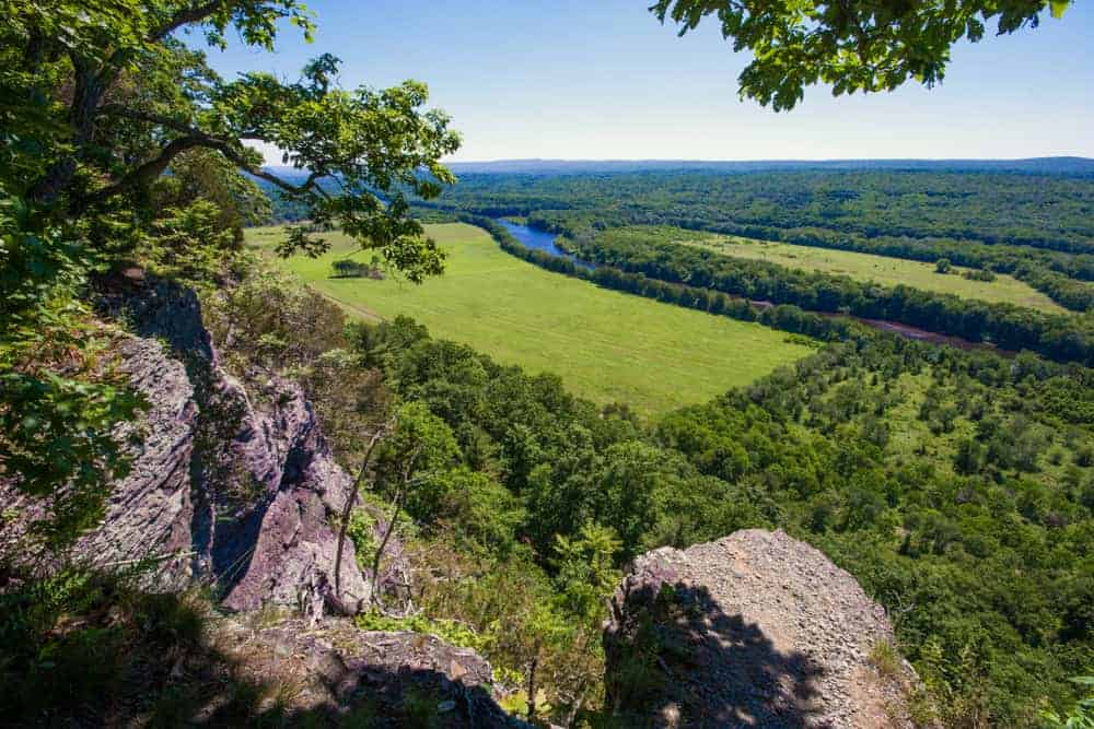 Hiking the Cliff Park Trail System in the Delaware Water Gap of PA