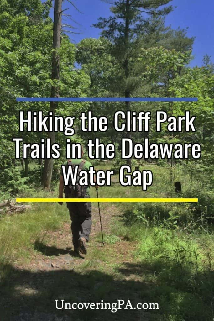 Hiking the Cliff Park Trail System in the Delaware Water Gap National Recreation Area in Pike County, Pennsylvania